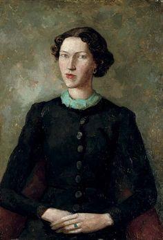 Odilon Redon - Baroness Robert de Domecy