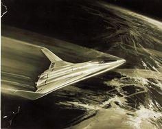 Space Shuttle Retro Illustration