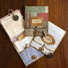 Handmade Journals Making folding pocket notebooks this morning. Super easy and really effective as… Handmade Journals, Handmade Books, Handmade Rugs, Handmade Crafts, Handmade Notebook, Journal Covers, Book Journal, Notebook Covers, House Journal