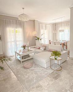 Home Room Design, Home Interior Design, Living Room Designs, Cream Living Rooms, Living Room Grey, Design Moderne, Deco Design, Living Room Decor Inspiration, Online Furniture Stores