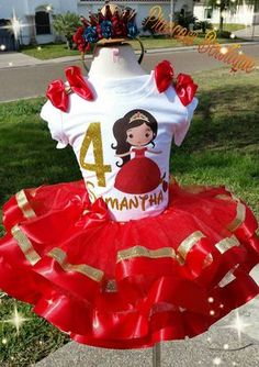 Elena of avalor tutus Elena of Avalor tutu Elena of Avalor Unicorn Birthday Parties, Birthday Ideas, Baby Girl 1st Birthday, Mexican Party, Frozen Party, Princess Party, Party Themes, Disney, 4 Year Anniversary
