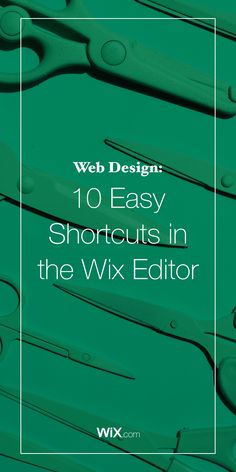 If you thought is was easy to make a Wix website before, wait until you discover these incredibly helpful keyboard shortcuts.