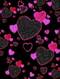 Imagenes Gif de Lindos Corazones De Amor