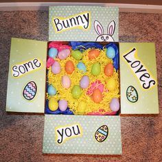 Easter care package #deployment #milso #militarycarepackage