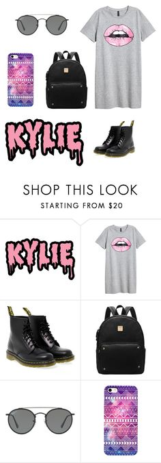 """."" by nur1908esma ❤ liked on Polyvore featuring KRISVANASSCHE, Dr. Martens and Ray-Ban"
