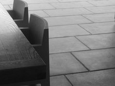 """""""Bigboy"""" tiles (1m x 600mm) used with good effect on a patio"""