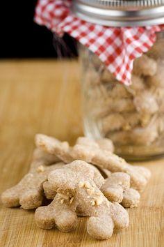 Peanut Butter Dog Treats via Sweet Paul Magazine by raquel