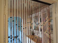 Mid Century Modern Beaded Room Divider Los Angeles by HouseCandyLA, $99.00