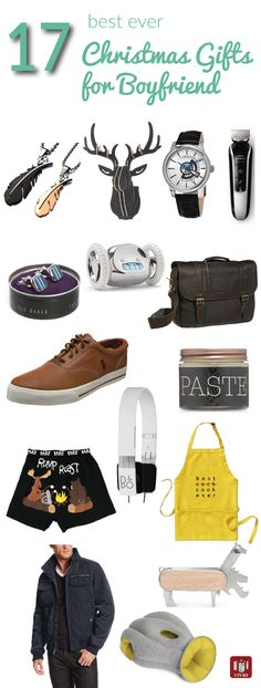 Holiday gift guide: Best Ever Christmas Gifts for Boyfriend. Men fashion, men accessories, men cave decor, and more.