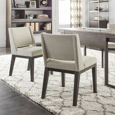 Calvin Klein Clarkson Chairs (Set of 2) | Overstock.com Shopping - The Best Deals on Dining Chairs