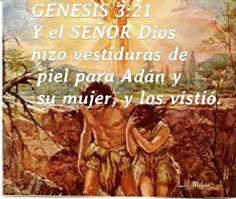 Genesis 36 genesis posters por araceli malpica pinterest gnesis 321 y el seor dios hizo al hombre y a su mujer sciox Choice Image