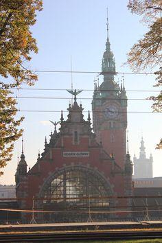 Gdansk Railway Station from back side by Anna Zadrowska, via 500px