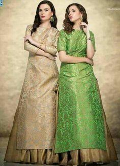 Best Trendy Outfits Part 40 Pakistani Dresses, Indian Dresses, Indian Outfits, Lehnga Dress, Brocade Dresses, Lehenga, Indian Attire, Indian Wear, Indian Style
