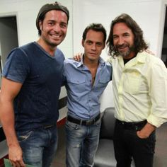 Chayanne, Marc Anthony & Marco Antonio Solís