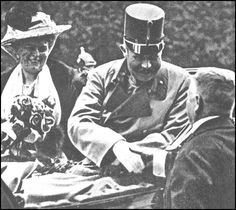 Archduke Franz Ferdinand and Dutchess Sophie were assassinated at Sarajevo on 28th June, 1914.