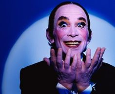 """Joel Grey And Michael York Discuss """"Coming Out"""" In """"Cabaret"""" Emcee Cabaret, Joel Grey, The Bad Seed, Gender Bender, Midsummer Nights Dream, The St, Musical Theatre, Classical Music, Musicals"""