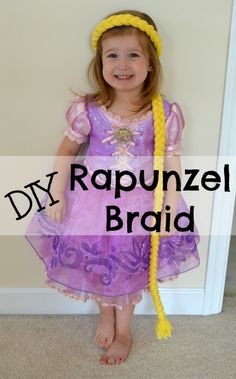 Tutorial on making a Rapunzel braid - inexpensive, easy, and fun!