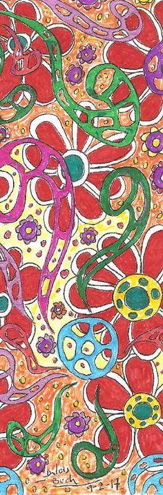 Respira i pensa  9- 2- 17 p 12-2-17  bolígraf retoladors  punt s Dolors Buch Castañer