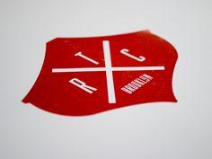 THE RED CANOE restaurant logo  #logo, #branding, #identity, #red, #design