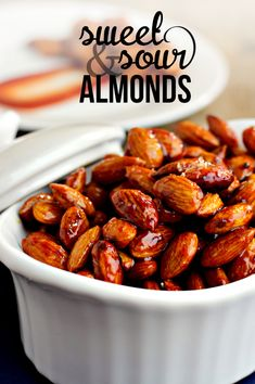 Sweet and Sour Almonds | CHA! by Texas Pete