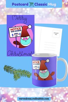 Find the perfect Christmas gift for everyone! Trendy postcards and mugs and other funny stuff with Santa. Cute graphic and colors! Goes well as a gift idea. #mugs #custommug #mugsmugsmugs #giftideas #giftsforall #santapostcard #santaslover #xmasmugs #christmasgifts #xmasdecor #postcardmania #postcardlover #postcardlovers