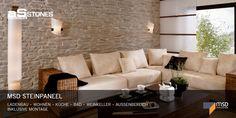 Wandverkleidung   Wandgestaltung   Wanddekoration   Ambiente Stones GmbH