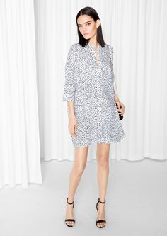 & Other Stories | Dot Print Dress