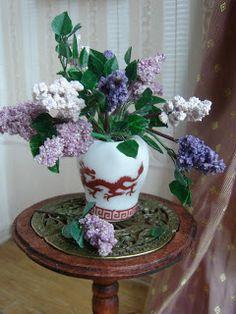 My little little dream: A miniature lilac. Miniature lilac. (tutorial)
