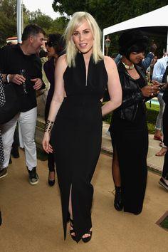 Beyonc�, Rihanna, and Kim Kardashian Show Some Skin at Roc Nation's Pre-Grammy Party  - ELLE.com