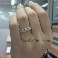 Brilliant 1.10ct Diamond Ring in Solid 14k Yellow Gold, Full Eternity Wedding Band Anniversary Ring, White & Rose Gold Metal Availble,