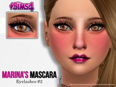 The Sims Resource: Marina's Mascara by Senpai Simmer • Sims 4 Downloads Check more at http://sims4downloads.net/the-sims-resource-marinas-mascara-by-senpai-simmer/
