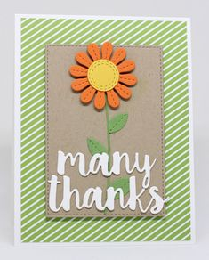 Stitched Flowers Die-namics, Thanks Die-namics, Stitched Rectangle STAX Die-namics - Jody Morrow  #mftstamps