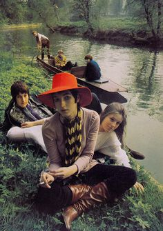 Photo by Patrick Litchfield for Vogue UK, 1969.