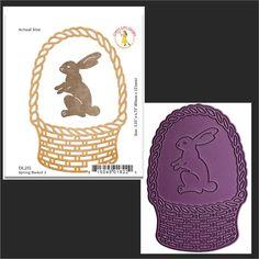 Spring Basket 2 metal die by Cheery Lynn Designs dies DL215