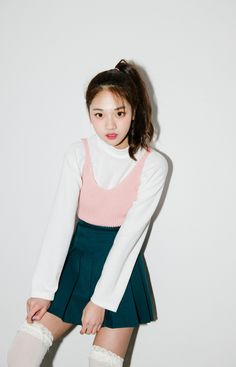#mixxmix Pink Sleeveless Knit Top (BVLK) - Stay cool and breezy this season in…