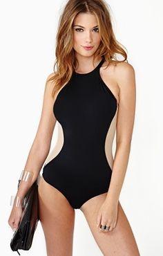 Nasty Gal Beach Riot X Kate Swimsuit - ShopStyle One-Piece Swimwear Women's Plus Size Swimwear, Plus Size Bikini, One Piece Swimwear, Beauty And Fashion, Fashion Mode, Look Fashion, Womens Fashion Online, Latest Fashion For Women, Ladies Fashion