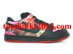 new style ea870 05b86 Online Sale Pro Pushead Black colorful Unique Design Nike SB Dunk Low Air  Max 1s,