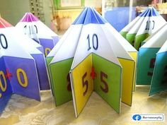 Easy Summer Crafts Ideas for Kids - Googodecor Addition Activities, Math Activities For Kids, Math For Kids, Preschool Activities, School Doors, Math Groups, Montessori Math, Christmas Math, Math Facts