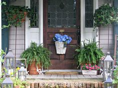 photos of front porches | Summer Front Porch..... - Cottage in the Oaks