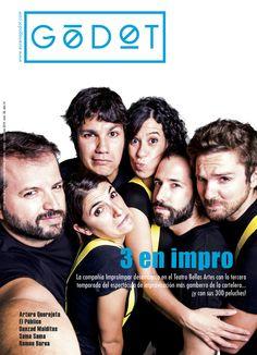 Godot número 58. Noviembre 2015. ImproImpar con 3 en Impro en el Teatro Bellas Artes