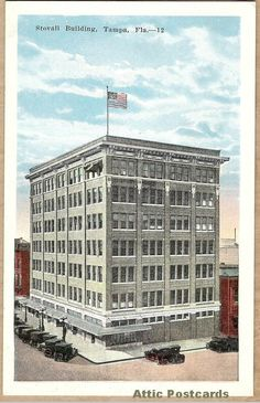 Stovall Building in Tampa, Florida.