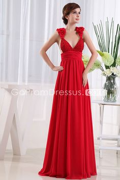 Actual picture strapless maternity prom dresses red chiffon ruched ...