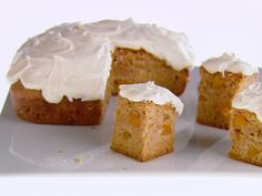 Sweet Peach Cake from FoodNetwork.com