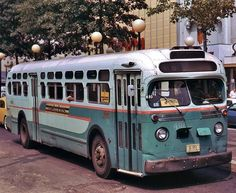 dc flxible new look transit bus 1968 places to visit retro bus
