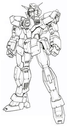 The Sprit of desgin Gundam Wing, Gundam Art, Gundam Model, Mobile Suit, Drawing For Kids, Baby Quilts, Line Art, Photo Art, Character Art