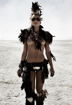 Female Wez from Mad Max inspiration
