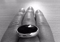 My classic black ring