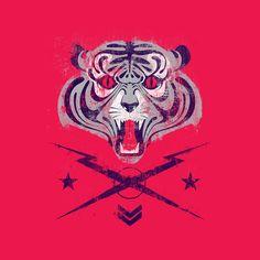 Tiger! by Andrés Moncayo, via Behance