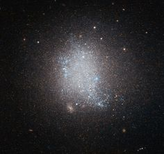 This image shows the star-forming galaxy UGC 5797. Image credit: ESA / Hubble / NASA / Luca Limatola.