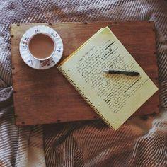 Ideias no papel.